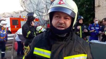 В МЧС рассказали о состоянии пожарных, пострадавших при тушении на Лужнецкой набережной