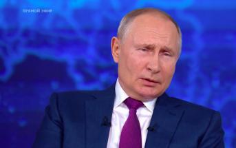 Путин заявил, что пока не знает, будет ли баллотироваться на пост президента в 2024 году