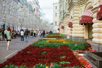 Власти Москвы потратят 1,2 млрд на высадку 65 тысяч цветов и деревьев
